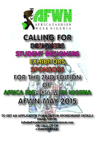 AFWN Call for designers